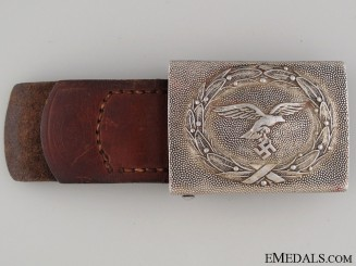 Luftwaffe Enlisted Belt Buckle 1938