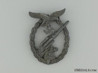 Luftwaffe Flak Badge, in Zinc, Unmarked