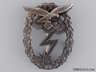 Luftwaffe Ground Assault Badge, by G.H. Osang