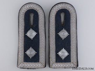Luftwaffe Oberfeldwebel Construction Unit Shoulder Boards