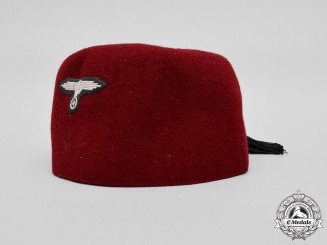 Germany, Waffen-SS. A Fez of the 13th Handschar Division