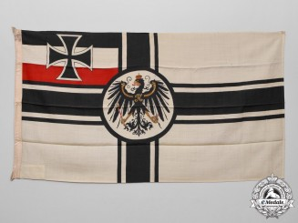 Germany. A Imperial Kaiserliche Marine Naval War Ensign