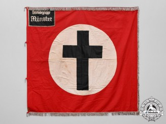 Germany. A Rare German Christian Fellowship of Münster Flag by Carl Bauer