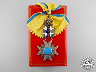 Sweden. An Order of the Sword, Grand Cross Set, c.1935 by C.F.Carlman
