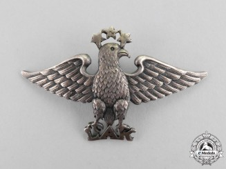 "Latvia. A Scarce ""Latvian Aero Klub"" Member's Badge, c.1937"