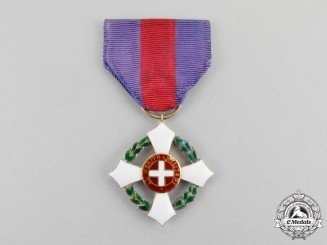 Italy, Kingdom. A Military Order of Savoy in Gold; Knight's Breast Badge, c.1916