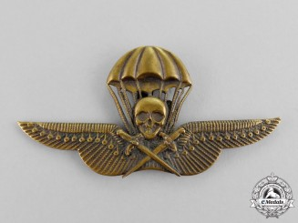 Hungary. A Rare Paratrooper's Badge, c.1940