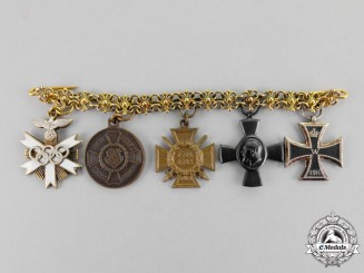 Germany. A Miniature Medal Chain