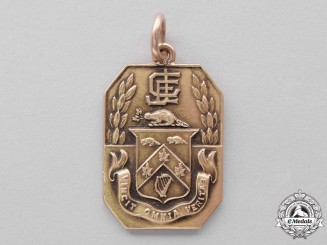 Canada. A Sir John Craig Eaton Gold Service Medal, c.1919