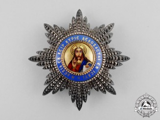 Greece. An Order of the Redeemer, Grand Officer, c.1905, by LeMaitre, Paris