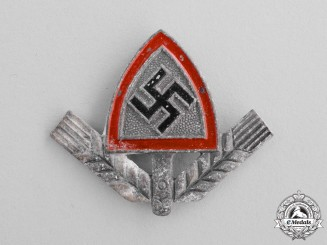 Germany. A RAD (National Labour Service) Cap Badge by Assmann & Söhne
