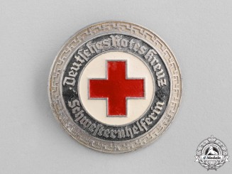 Germany. A DRK (German Red Cross) Nurse's Aid Badge