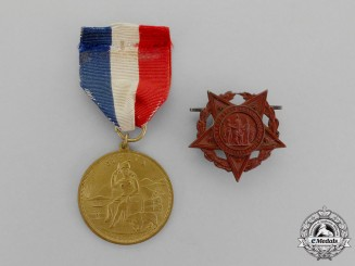 United States. Two Ladies of the Grand Army of the Republic (GAR) Awards