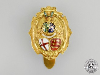 United Kingdom. A Sheriff of London Badge, Attributed to Sir George Edmund Hodgkinson c.1850