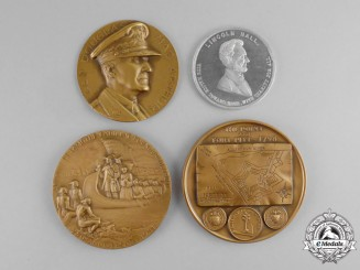 United States. A Lot of Four Commemorative Medals & Awards