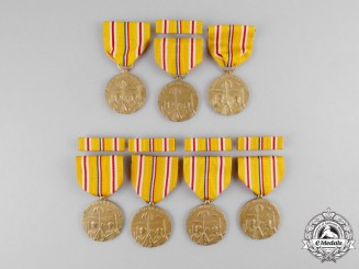 United States. A Lot of Asiatic Pacific Campaign Medals, c.1955