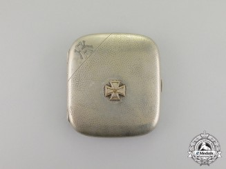 Germany. An Iron Cross 1939 Cigarette Case