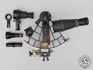 Germany. A Kriegsmarine Trommel-Sextant by C.Plath 1940