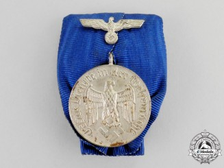 Germany. A Court Mounted Wehrmacht Heer (Army) 4-Year Long Service Award
