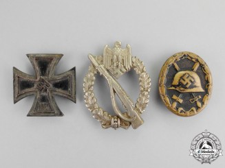 Germany. Three Second War German Medals, Awards, and Decorations