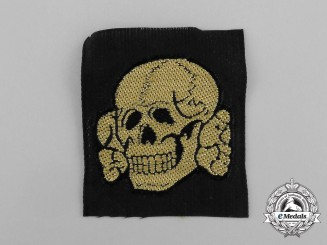 "Germany. A Mint Waffen-SS EM/NCo's Tropical ""Totenkopf"" Cap Skull"