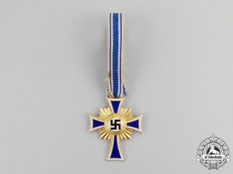 Germany. A Gold Grade Mother's Cross by A. Rettenmaler with Case