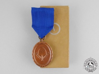 Germany. A Mint Cased RAD (National Labour Service) Award for 4 Years of Service; Light Version