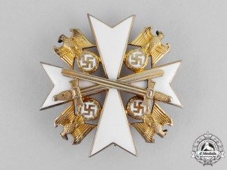 Germany. A German Eagle Order, Second Class with Swords, by Godet & Co.