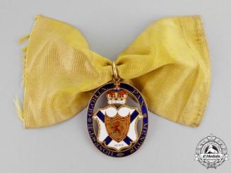 United Kingdom. A Superb Baronet's Badge of Nova Scotia in Gold, c.1790
