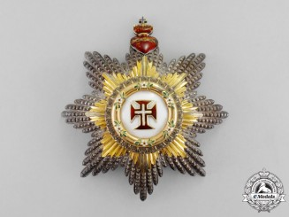 Portugal. A Military Order of Christ, 1st Class Grand Cross Star, c.1920