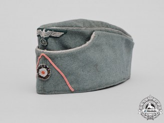 Germany. A Wehrmacht Heer Panzer Officer's Overseas Side Cap