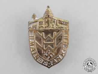 Germany. A Winter Aid of the German People Donation Badge