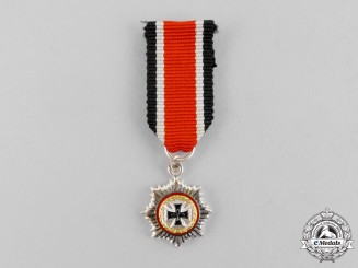 Germany, Republic. A Miniature German Cross in Gold, 1957 Version