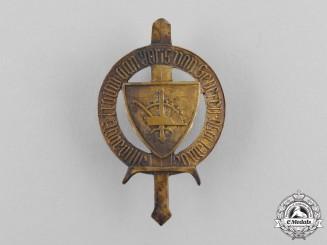 A Rare Second War Flemish Dinaso Honor Award, Bronze Grade