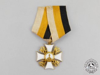 Russia, Imperial An Order of Saint Nicholas the Wonderworker 1914-1917, Version 1 with Griffins