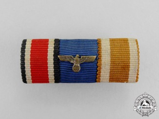 Germany. Second War Period Wehrmacht Heer (Army) Long Service Medal Ribbon Bar