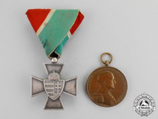 Hungary, Kingdom. Two Awards