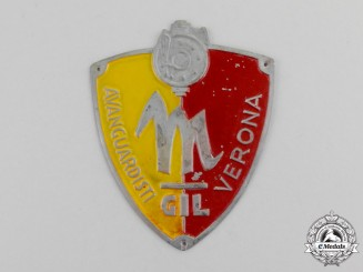 Italy. A GIL Fascist Youth Avant-Garde Verona Sleeve Badge