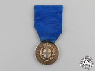 Italy, Kingdom. A Medal for Military Valour, Silver Grade, Type II