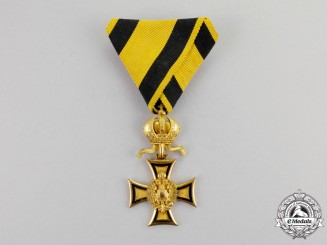 Austria, Imperial. A Military Long Service Decoration, 1st Class for Officers for Fifty Years' Service
