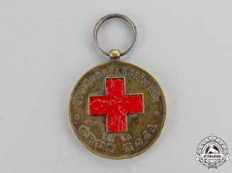 Argentina. A Red Cross Society Medal, c.1920