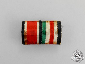 Germany. A Second War Period Italian-German African Campaign Ribbon Bar