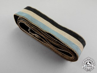 Germany. A First War Period Bavarian Ceremonial Flag Streaming Ribbon