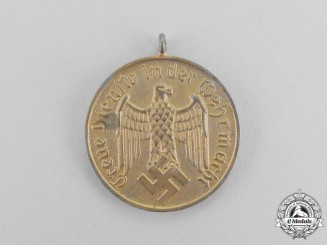 Germany. A Second War Period Wehrmacht Heer (Army) 12 Year Long Service Medal