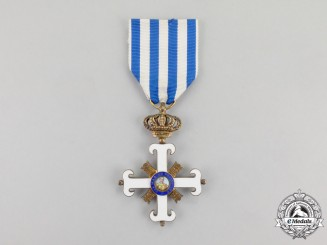 San Marino. A Civil and Military Equestrian Order of Saint Marinus, Knight, c.1920