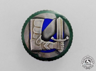 Finland. A Civil Guards Military Proficiency Badge