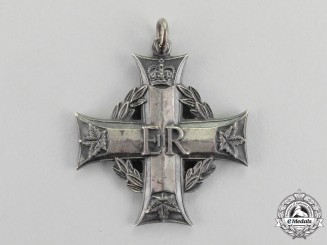 Canada. Canadian Memorial Cross, to Sergeant H.A. Connors