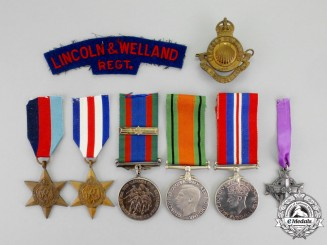 Canada. A Memorial Group to the Lincoln and Welland Regiment; Netherlands KIA