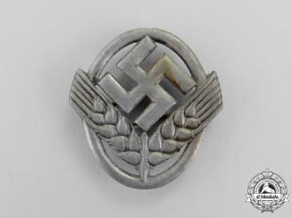 Germany. A RAD (Reich Labour Service) Cap Badge