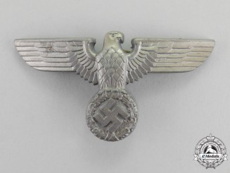 Germany. An SA/Politcal Cap Eagle by Werner Redo of Saarlautern